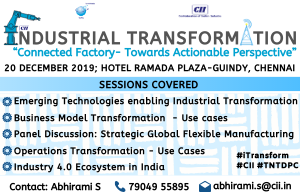 Conference on Industrial Transformation (Southern Region)